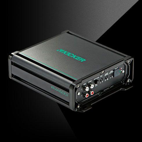 KICKER KMA600 1 600W Mono Class D Marine Amplifier
